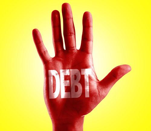 mounting debt