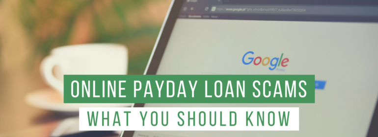 Headline Image: What You Should Know About Online Payday Scams